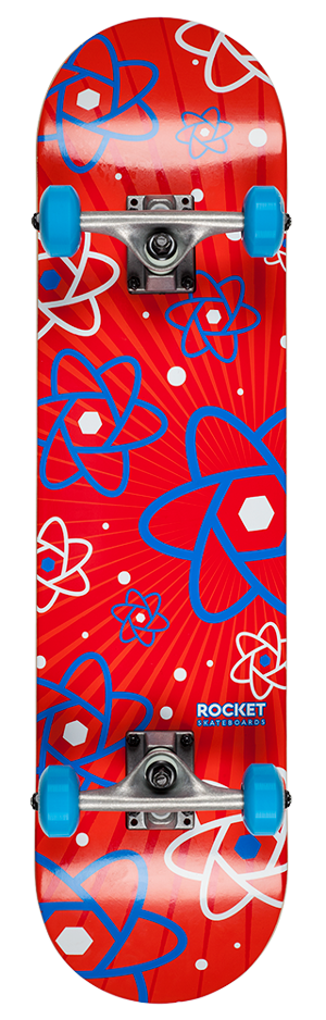 "Rocket Atom Series Multiply 7.75"" skateboard"