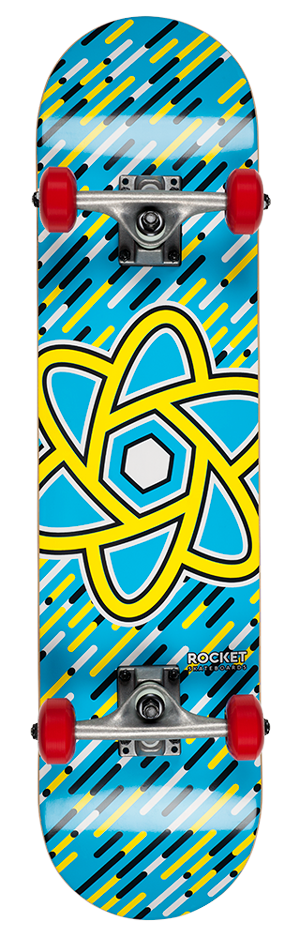 "Rocket Atom Series Oversized 7.5"" skateboard"
