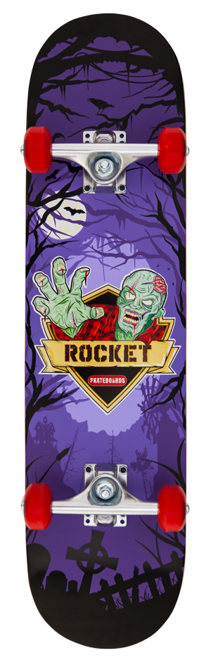 "Rocket Logo Series Creeper 7.5"" skateboard"