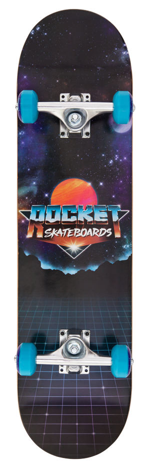 "Rocket Logo Series Future 7.75"" skateboard"