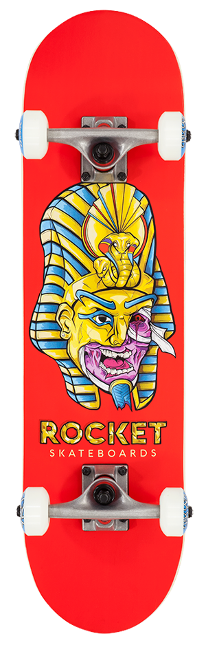 "Rocket Mini Mask Series Pharaoh 7.5"" skateboard"