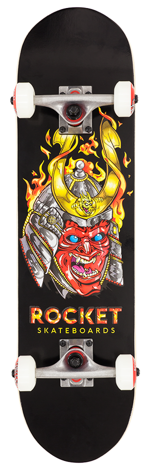 "Rocket Mini Mask Series Samurai 7.5"" skateboard"