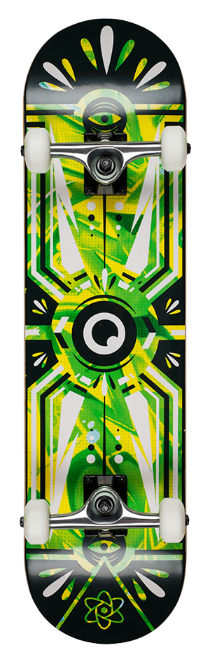 "Rocket Surveillance Series Jungle 8"" skateboard"