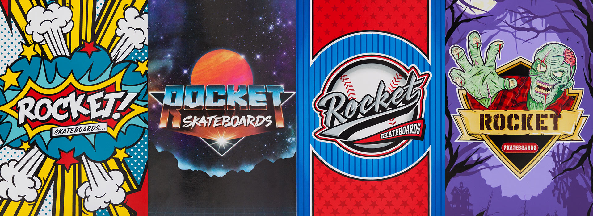 Rocket complete skateboard - Logo Series