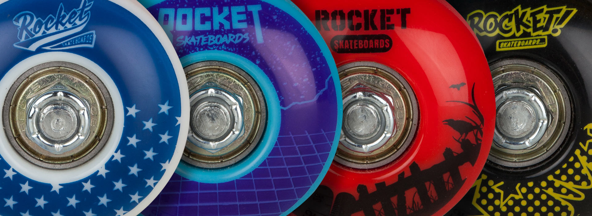 Rocket beginner skateboard complete - Logo Series