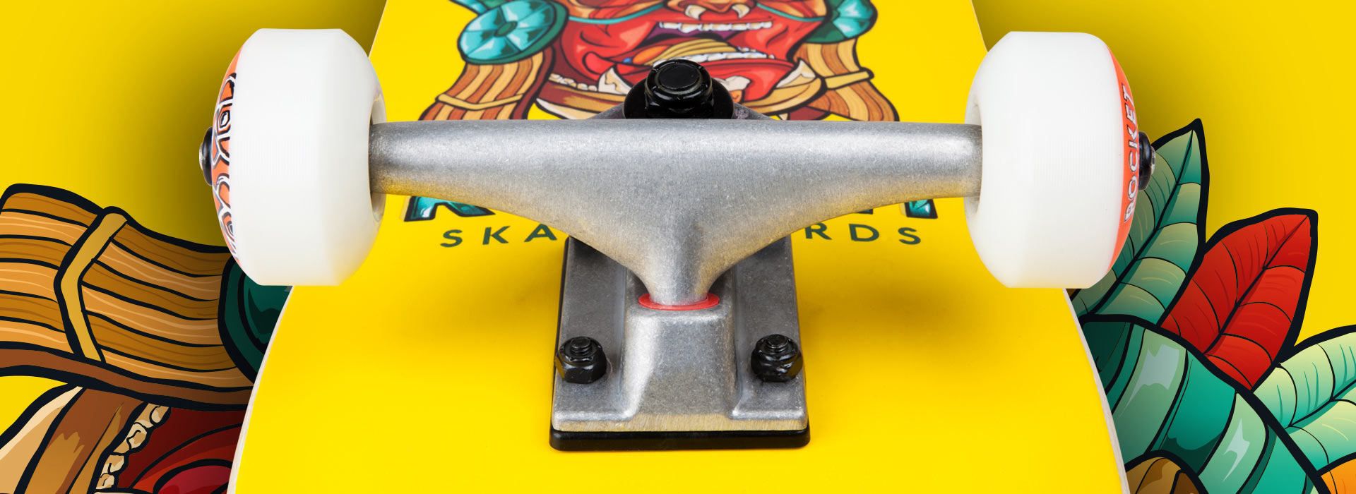 Rocket beginner skateboard complete - Mini Mask Series